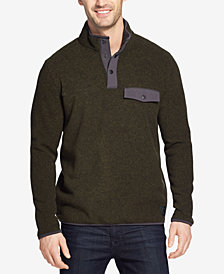 G.H. Bass & Co. Men's Arctic Fleece Mock-Collar Sweater