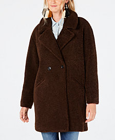 Lucky Brand Faux-Fur Teddy Coat