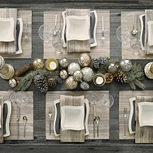 Radcliffe Jacquard Table Linen Collection