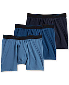 Jockey Men's 3-Pk. MaxStretch Boxer Briefs