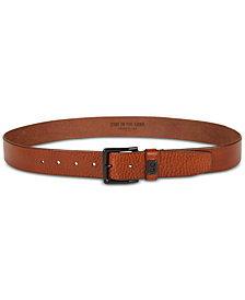 Kenneth Cole Reaction Men's Textured Leather Dress Belt, Created for Macy's