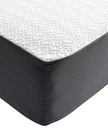 "Sleep Trends Ladan Twin 10.5"" Cool Gel Memory Foam Cushion Firm Pillow Top Mattress"