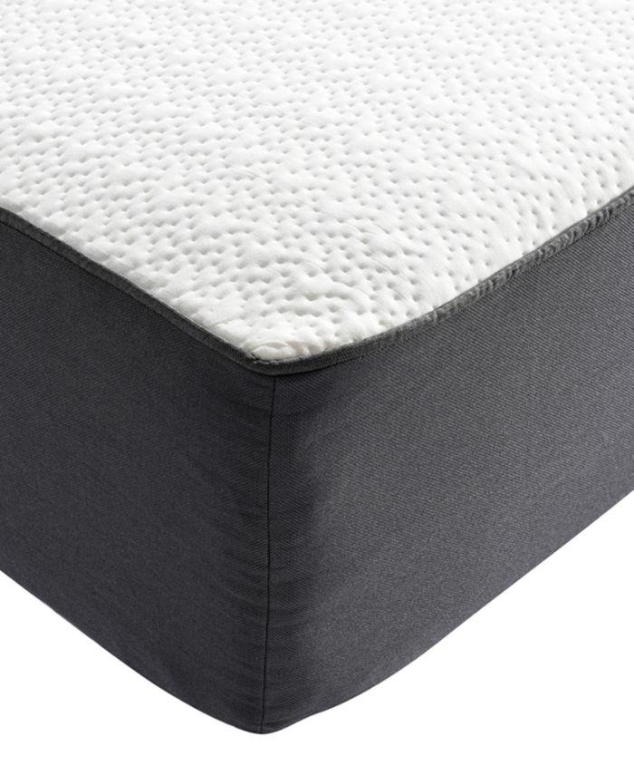 """Sleep Trends Ladan 10.5"""" Cool Gel Memory Foam Cushion Firm Pillow Top Mattress- California King  & Reviews - Mattresses - Macy's"""