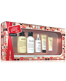 philosophy 5-Pc. Celebrate Pure Skin Gift Set