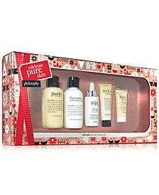 philosophy 5-Pc. Celebrate Pure Skin Gift Set