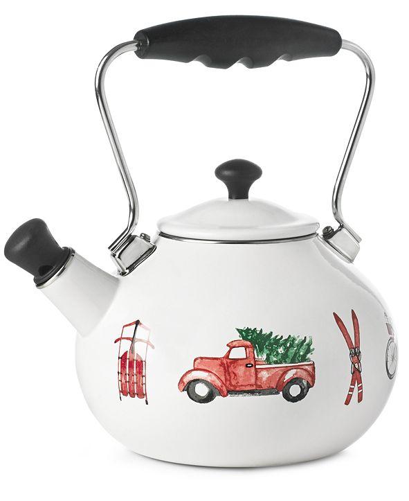 Martha Stewart Collection Tea Kettle, Created for Macy's