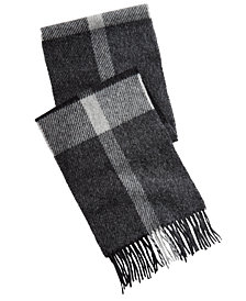 Barbour Men's Oakwell Plaid Wool Scarf