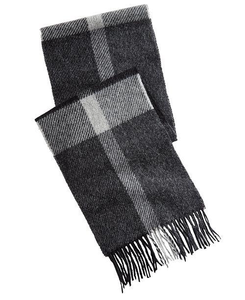 e461344e2c32c Barbour Men's Oakwell Plaid Wool Scarf & Reviews - Hats, Gloves ...