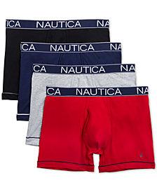 Nautica Men's 4-Pk. Stretch Boxer Briefs