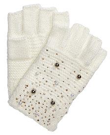 I.N.C. Shine Like the Night Fingerless Gloves, Created for Macy's