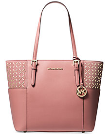 MICHAEL Michael Kors Suede Jet Set Travel Tote