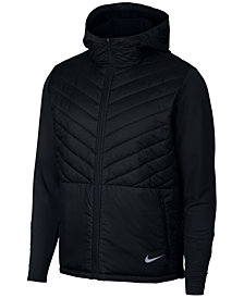 Nike Men's AeroLayer Hooded Running Jacket