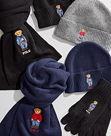Polo Ralph Lauren Polo Bear Hats, Scarves & Gloves