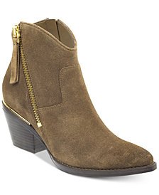 GUESS Women's Nalony Western Booties