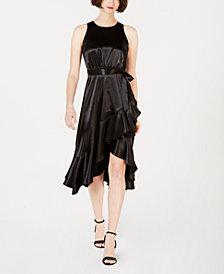 Taylor Satin Midi Dress