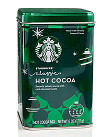 Starbucks Classic Cocoa Tin Canister