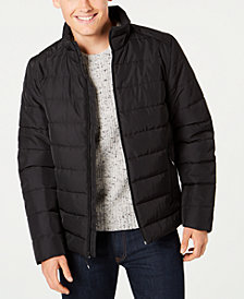 Kenneth Cole Men's Quilted Puffer Coat