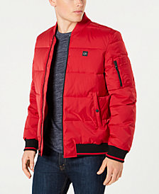 Calvin Klein Men's Puffer Baseball Collar Jacket