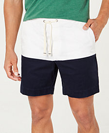 "Tommy Hilfiger Men's Colorblocked 7"" Shorts"