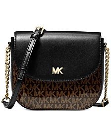 MICHAEL Michael Kors Signature Glossy Half Dome Crossbody, Created for  Macy s ee7638015d