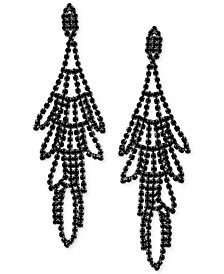 GUESS Multi-Stone Swing Chandelier Earrings