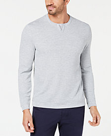 Tasso Elba Men's Geometric Jacquard T-Shirt, Created for Macy's