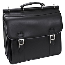 """Halsted 15"""" Double Compartment Laptop Briefcase"""