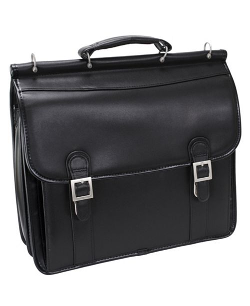 """McKlein Halsted 15"""" Double Compartment Laptop Briefcase"""