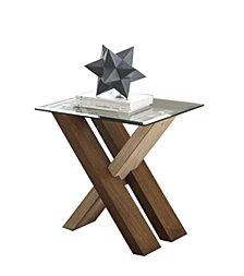 Tasha End Table, Quick Ship