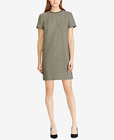 Polo Ralph Lauren Houndstooth Shift Dress