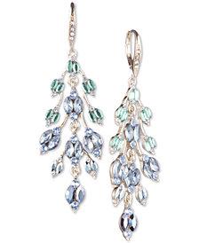 Jenny Packham Crystal Leaf Chandelier Earrings