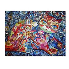 Oxana Ziaka 'Venice Cat' Canvas Art Collection