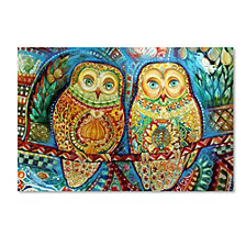 Oxana Ziaka 'Byzantine Owls' Canvas Art Collection