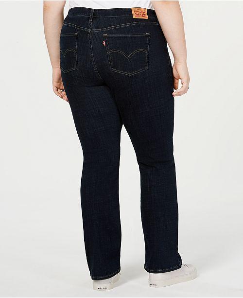 4f3faf5ce76 Levi s Plus Size 415 Classic Stretch Bootcut Jeans   Reviews - Jeans ...