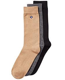 Sperry Men's 3-Pk. Casual Crew Socks