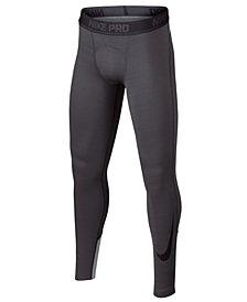 Nike Big Boys Pro Compression-Fit Leggings