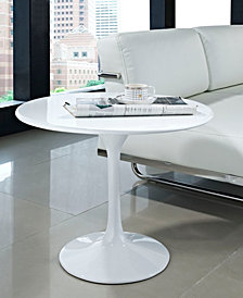 Lippa 24 Fiberglass Side Table