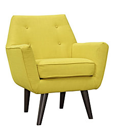 Modway Posit Upholstered Fabric Armchair