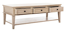 Manelin Coffee Table With Storage Drawers