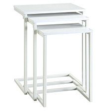Eleana Wood Nesting Tables, Quick Ship