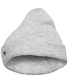 adidas Originals Metallic-Logo Fuzzy Beanie