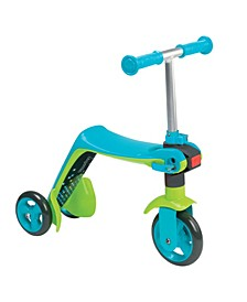 Smoby - Reversible 2 in 1 Scooter, Blue
