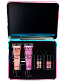 NYX Professional Makeup 4-Pc. Sprinkle Town Shimmer Eye & Lip Set
