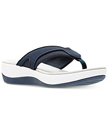 Clarks Collection Women's Cloudsteppers Arla Marina Flip-Flops