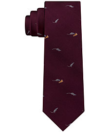 Tommy Hilfiger Men's Pizza Rat Silk Tie