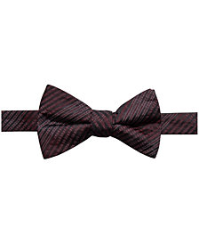 Ryan Seacrest Distinction™ Men's Landon Plaid Pre-Tied Silk Bow Tie, Created for Macy's