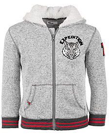 Epic Threads Little Boys Zip-Front Fleece Expedition Hoodie, Created for Macy's