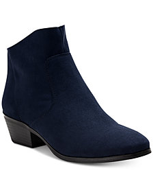 Style & Co Winie Ankle Booties, Created for Macy's