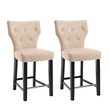 Kings Counter Stool (Set of 2), Quick Ship