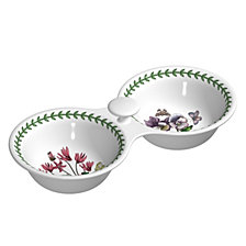 Botanic Garden Snack Bowl with Handles, Set of 2